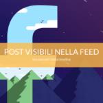 facebook post visibili solo nella feed