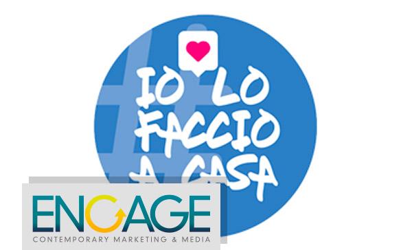 Coronavirus: il mondo dell'Influencer Marketing lancia la campagna #IoLoFaccioACasa