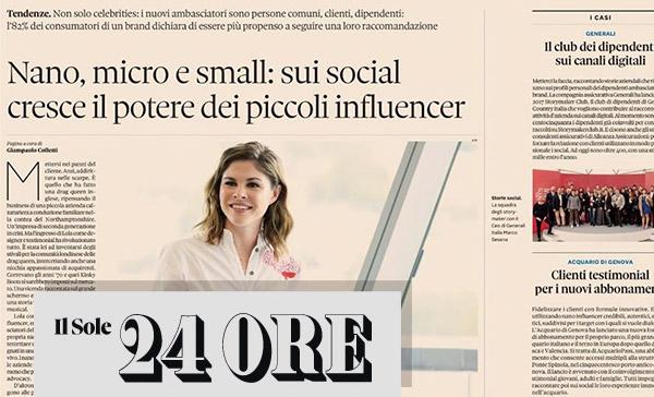 Nano, micro e small: sui social cresce il potere dei piccoli influencer